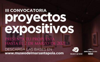 ARTE: III CONVOCATORIA DE PROYECTOS EXPOSITIVOS