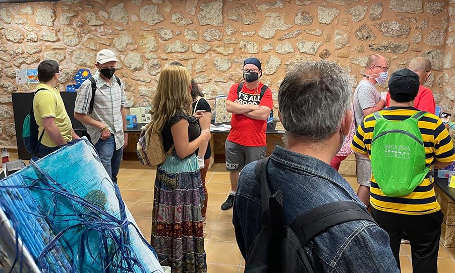 LOS PARTICIPANTES DEL TALLER «VULTUS MARE» SE REUNEN EN EL MUSEO DEL MAR